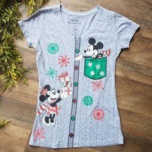 Disney • Mickey & Minnie Christmas Tee